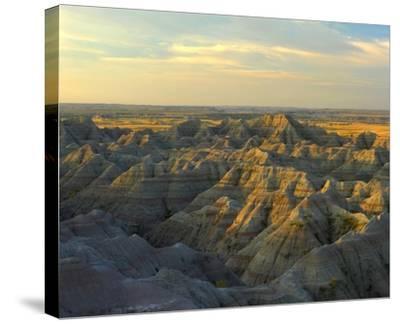 White River Overlook, Badlands National Park, South Dakota-Tim Fitzharris-Stretched Canvas Print