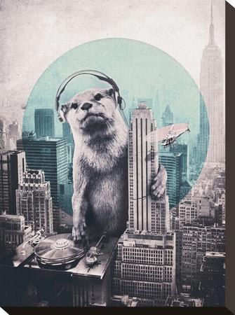 DJ-Ali Gulec-Stretched Canvas Print