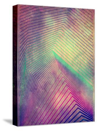 Untitled (lyyn tyym)-Spires-Stretched Canvas Print