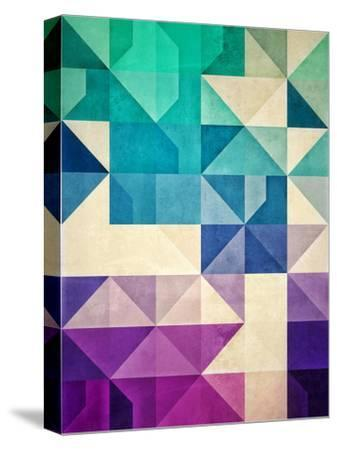 Untitled (Pyrply)-Spires-Stretched Canvas Print