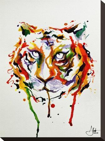 Demeter-Marc Allante-Stretched Canvas Print