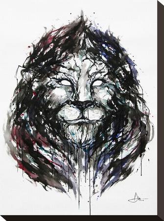 Ozymandius-Marc Allante-Stretched Canvas Print