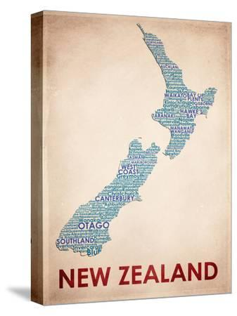 New Zealand--Stretched Canvas Print