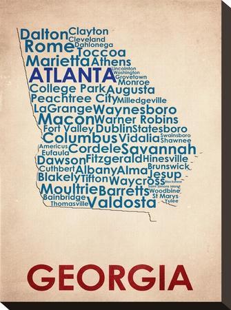 Georgia--Stretched Canvas Print