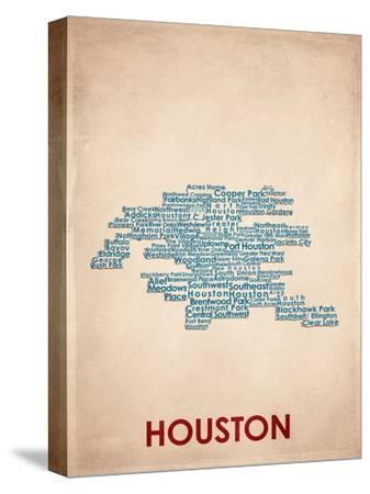 Houston--Stretched Canvas Print