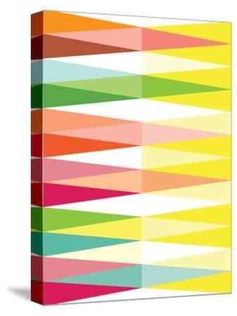 Spring Geometric Triangle-Patricia Pino-Stretched Canvas Print