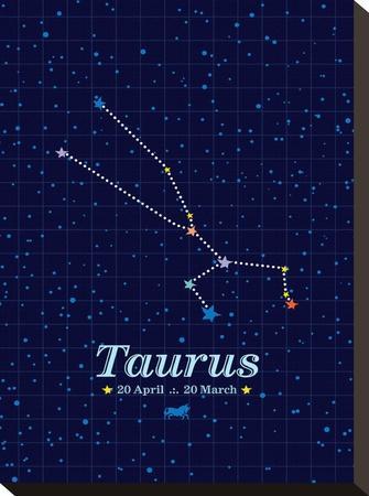 Taurus-Patricia Pino-Stretched Canvas Print