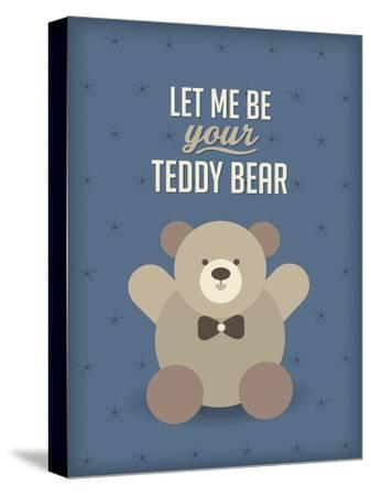 Teddy Bear-Patricia Pino-Stretched Canvas Print