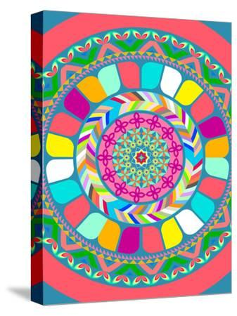 Pattern III-Patricia Pino-Stretched Canvas Print