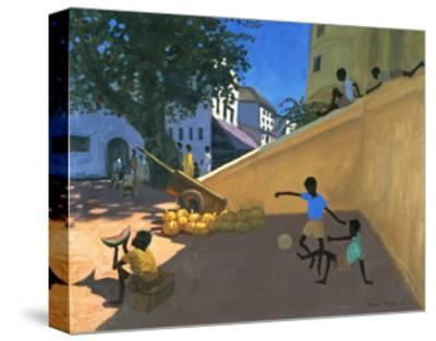Water Melons, Hamu, Kenya, 1995-Andrew Macara-Stretched Canvas Print