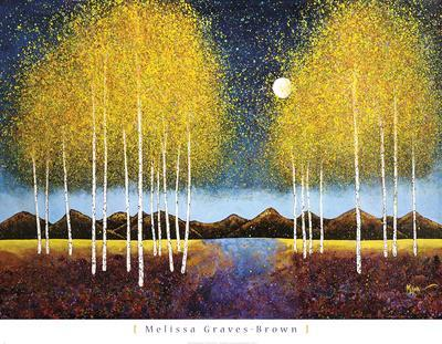 Full Moon Panorama-Melissa Graves-Brown-Art Print
