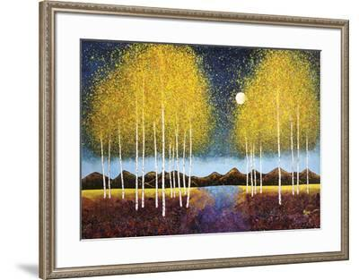 Full Moon Panorama-Melissa Graves-Brown-Framed Art Print
