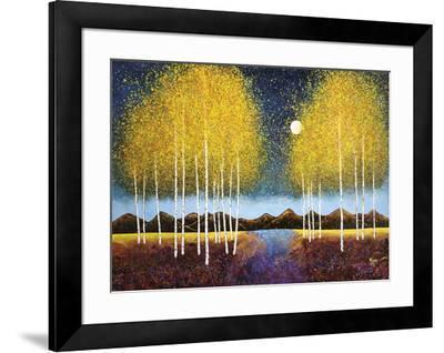 Full Moon Panorama-Melissa Graves-Brown-Framed Art Print