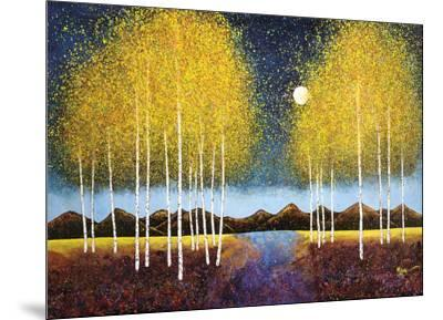 Full Moon Panorama-Melissa Graves-Brown-Mounted Art Print