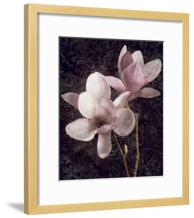 Pink Magnolias I-John Seba-Framed Giclee Print