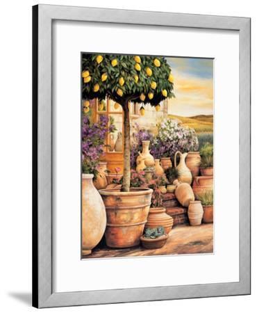 Lemon Topiary-Eduardo Moreau-Framed Giclee Print