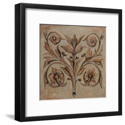 Decorative Scroll I-Pablo Segovia-Framed Giclee Print