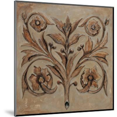 Decorative Scroll I-Pablo Segovia-Mounted Giclee Print