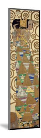 Expectation, Stoclet Frieze, c.1909 (detail)-Gustav Klimt-Mounted Giclee Print