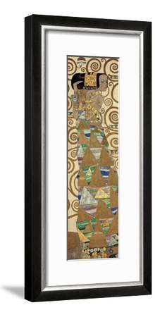 Expectation, Stoclet Frieze, c.1909 (detail)-Gustav Klimt-Framed Giclee Print