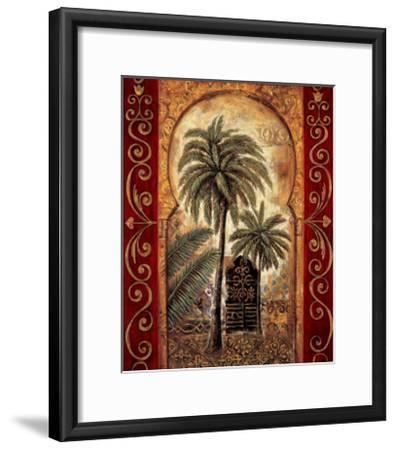 Moroccan Collage I-Eduardo Moreau-Framed Giclee Print