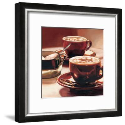 Tazze con Cappuccino-Federico Landi-Framed Giclee Print