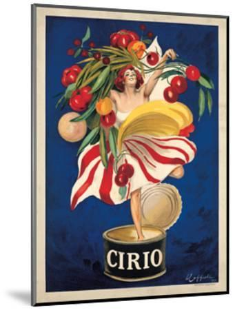 Cirio-Leonetto Cappiello-Mounted Giclee Print