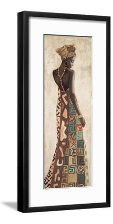 Femme Africaine III-Jacques Leconte-Framed Giclee Print