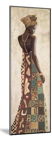 Femme Africaine III-Jacques Leconte-Mounted Giclee Print
