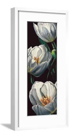 Dewdrop Tulips-Alma'ch-Framed Giclee Print