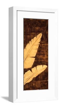 Tropical Palm Triptych III-David Parks-Framed Giclee Print