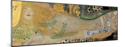 Water Serpents I, c.1907-Gustav Klimt-Mounted Giclee Print