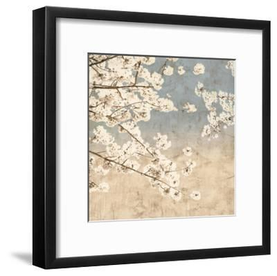 Cherry Blossoms II-John Seba-Framed Giclee Print