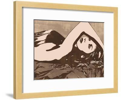 Her Pose-Andrew Cooper-Framed Giclee Print