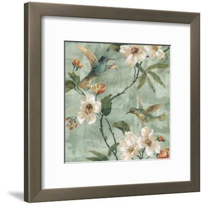 Birds of a Feather II-Rene? Campbell-Framed Giclee Print