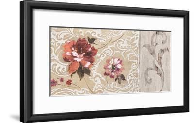 Fleurs Neoclassique II-Hélene Simon-Framed Giclee Print