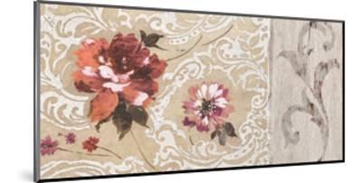 Fleurs Neoclassique II-Hélene Simon-Mounted Giclee Print