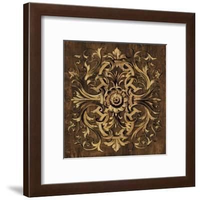 Classic Scroll I-Dylan Wright-Framed Giclee Print