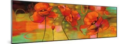 Magical Poppies-Nicole Sutton-Mounted Giclee Print