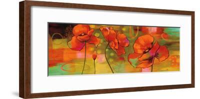 Magical Poppies-Nicole Sutton-Framed Giclee Print