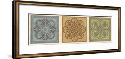 Classical Tiles I-Jenny Oliver-Framed Giclee Print