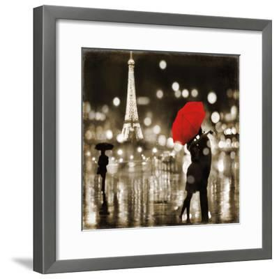 A Paris Kiss-Kate Carrigan-Framed Giclee Print