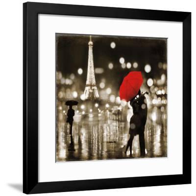 A Paris Kiss-Kate Carrigan-Framed Giclee Print