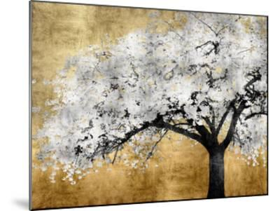 Silver Blossoms-Kate Bennett-Mounted Giclee Print