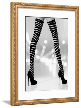 Night Out II-Sarah Mcguire-Framed Giclee Print