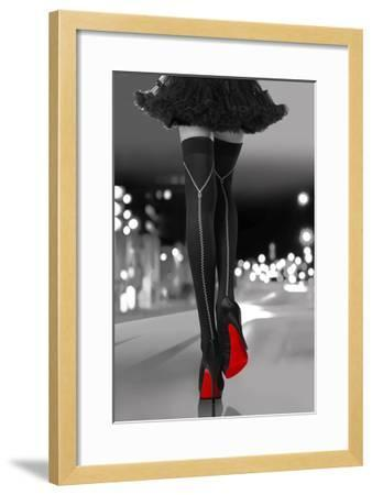 Night Out I-Sarah Mcguire-Framed Giclee Print