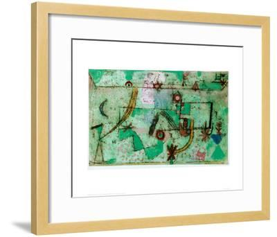 In the Manner of Bach, 1919-Paul Klee-Framed Giclee Print