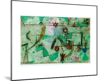 In the Manner of Bach, 1919-Paul Klee-Mounted Giclee Print