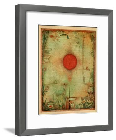 Ad Marginem, 1930-Paul Klee-Framed Giclee Print