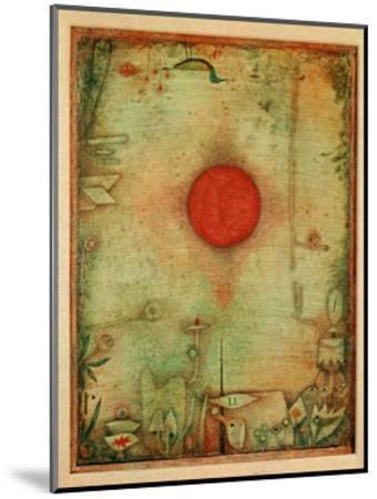 Ad Marginem, 1930-Paul Klee-Mounted Giclee Print